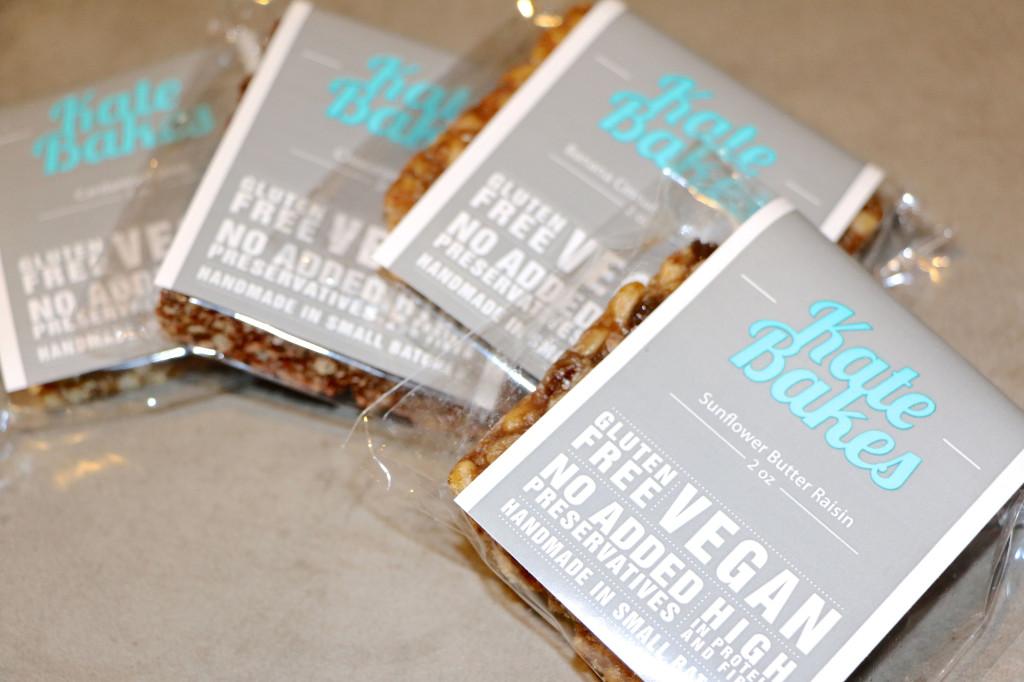 Kate Bakes Granola Bar flavors