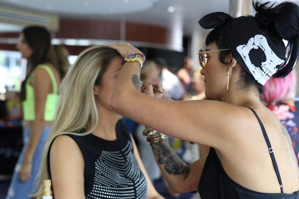 Ford Models Makeup artist