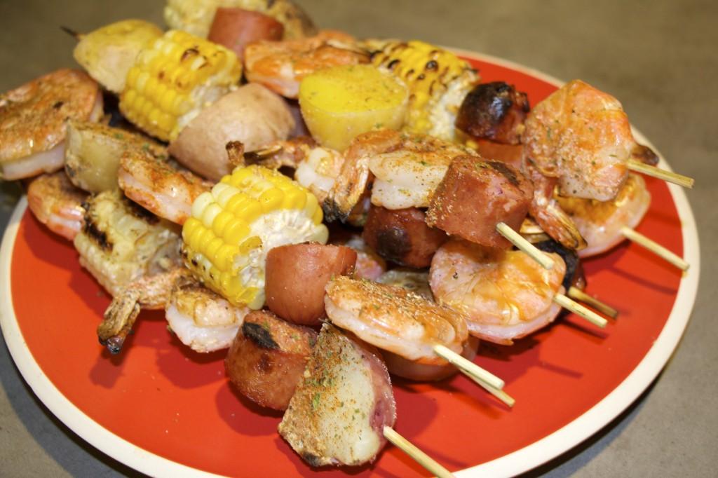 grilled skewers