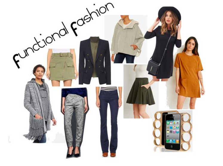 Functional Fashion Collage
