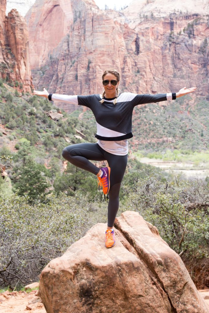 Yoga in Zion