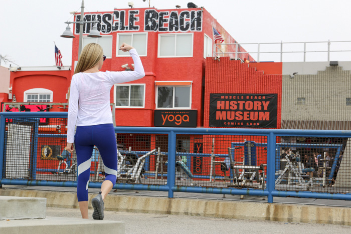 Muscle Beach Workout